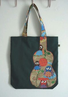 Such a cute little market bag! #upcycled #tote #sewing #bags #style