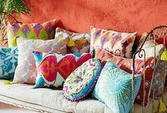 throw pillow combining colors - Google Search