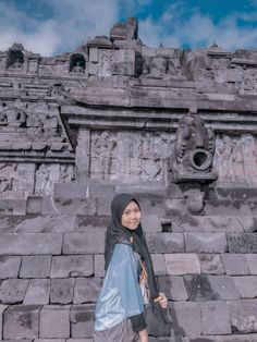 Casual Hijab Outfit, Ootd Hijab, Borobudur Temple, Selfie Poses, Tumblr Wallpaper, Chanyeol, Bff, Celebrities, Photography