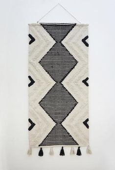 Add an eclectic feature to your living spaces with our woven wall hangings! Measuring x these large textural hangings will most definitely add personality and warmth to your home. Fabric Wall Decor, Wall Decor Design, Weaving Wall Hanging, Wall Hangings, Love Home, Twine, Living Spaces, Personality, Bohemian