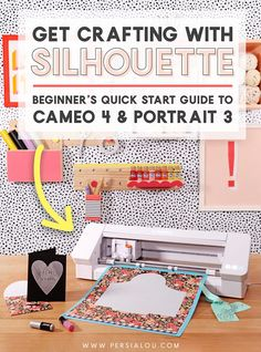 Silhouette Portrait Projects, Silhouette Cameo Projects, Silhouette Curio, Silhouette Machine, Used Vinyl, Vinyl Crafts, Diy Paper, Craft Gifts, Craft Projects
