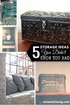 5 Storage Opportunities I Bet You Didn't Know You Had