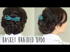 Basket Braided Updo - YouTube