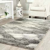 Found it at AllModern - Vulpecula Gray and Ivory Area Rug
