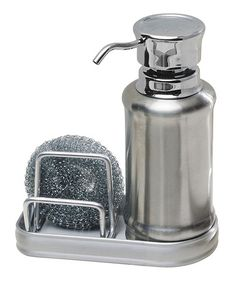 Another great find on #zulily! Silver Ergo Soap & Scrubby Set #zulilyfinds