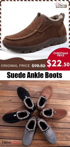 Men's Shoes Sensible Otto Zone New Handmade Genuine Cow Leather Mens Shoes Boots Lace-up Ankle Boots Mens Shoes With Fur Size Winter Boots Basic