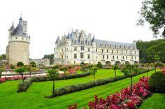 Chateau de Chenonceau   Loire Valley, France