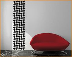 Wall Decal No.SF763 Houndstooth