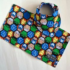 Made a bunch more flannel bib and burp cloth sets this weekend!  More colours and patterns available now!