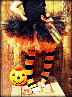 Double Poof Halloween TuTu by Abbys TuTu Factory, via Flickr