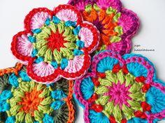 Mandala Crochet, Flower Crochet, Diy Crochet, Crochet Doilies, Floral Motif, Crochet Projects, Blankets, Coasters, Crochet Earrings