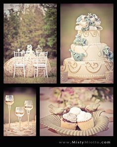 Linens: Over the Top, Cake: Cut the Cake, Cupcakes: Anna Cakes, Chiavari Chairs: A Chair Affair