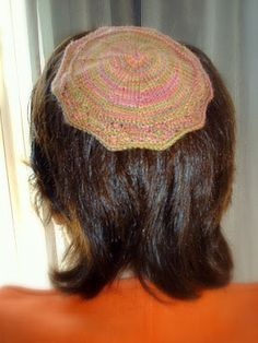 Here is the promised Kippah pattern. Actually it is really 2 patterns in one. If you skip the lace portion and instead cast on the same nu...