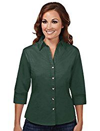 New Tri-Mountain Womenโ€™s Affinity Blended Twill Shirt with Teflon? Stain Resistant online. Find the perfect Allegrace Tops-Tees from top store. Sku SVQT86062RKGF49435