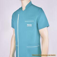 RM-16032 Scrub Suit Design, Dental Shirts, Stylish Scrubs, Clinic Logo, Maid Uniform, Medical Scrubs, Pharmacy, Chef Jackets, Sari
