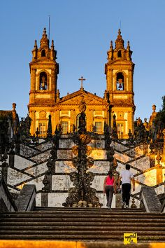 Bom Jesus in Braga church, Portugal Braga Portugal, Visit Portugal, Portugal Travel, Funchal, The Beautiful Country, Beautiful Places, Great Places, Places To Visit, Europe Holidays