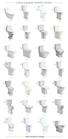 28 Simple and Budget Friendly Toilets