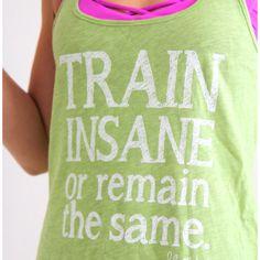 Running shirt. CUTE.