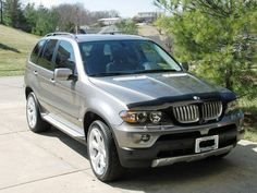 2000 2001 2002 2003 2004 2005 2006 BMW E53 X5 HOOD STONE BUG DEFLECTOR  #3DCarbon