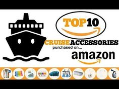 "These are the most popular cruise accessories purchased on Amazon. Check out these 10 ""must have"" items and make the most of your vacation!"