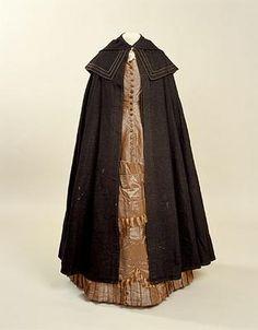 housekeeper uniform Europe, United Kingdom, England 1880-1890