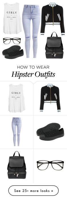 Untitled #183 by bailanenaconmarama on Polyvore featuring Mode, MANGO, COSTUME NATIONAL, Moschino, New Look, Converse, women's clothing, women, female und woman