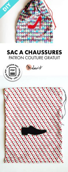 Sac a chaussures - Patron couture gratuit sur Makerist.fr Source by valliste Crochet Christmas Gifts, Crochet Gifts, Sewing Patterns Free, Free Sewing, Diy Sac, Coaching, Diy Bags Purses, Dressmaking, Sewing Projects