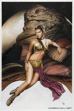 princess leia erotic art