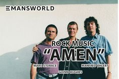 The Amazing Rock Album AMEN with Marc Storage, Glenn Hughes and Manfred Ehlert from EMANSWORLD. #emansworld #ManfredEhlert #RockMusic #RockAlbum #Amen @Emansworld @ManfredEhlert @ManfredEhlertOfficial Visit the Link: http://emansworld.net/music/amen/
