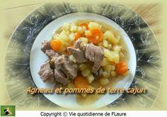 Agneau et pommes de terre cajun, Vie quotidienne de FLaure