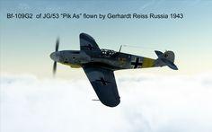 "Bf-109G2 JG/53 ""Pik As""."