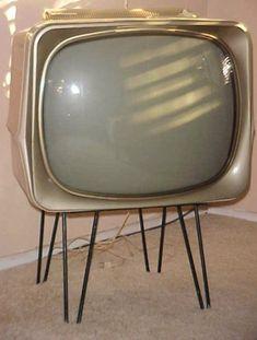 Vintage TV - mid century modern, space age decor