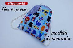 BLOG: http://www.coloursforbaby.blogspot.com Hola de nuevo, desde el canal de Colours for baby os traemos un tutorial para que hagáis fácilmente una mochila ...