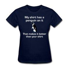 Spreadshirt my shirt has a Womens Standard Weight T-Shirt navy S