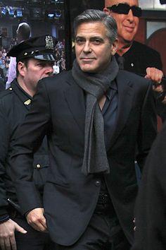 Dashing George Clooney at Monuments Men New York premiere Lainey Gossip Entertainment Update