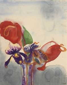 Emil Nolde, Orchid and  Anthurium