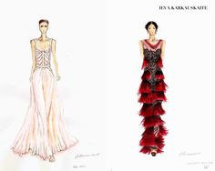 VOTE FOR YOUR FAVORITE FASHION SKETCH – ITS AUTHOR COULD WIN A YEAR OF FASHION SCHOOL IN PARIS! - NOWFASHION
