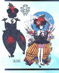 FGO -EoR III- (Shimosa), Chapter The Demon and the Rakshasa (Earth) (Translated) Character Turnaround, Fate Stay Night Series, Katsushika Hokusai, Fate Anime Series, Cosplay, Character Drawing, Character Design Inspiration, Cool Artwork, Anime Characters