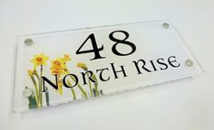The First Sign of Spring... ALL This snow and its March! #SpringTime but ah ho! you can have #daffodils on your HOUSE SIGN