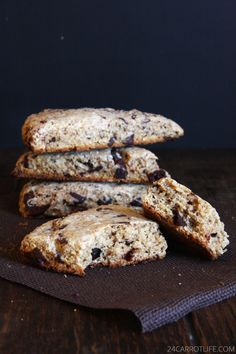 WHOLE WHEAT CHAI CHOCOLATE CHIPS SCONES