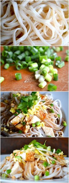 How To Make Better-Than-Takeout Easy Pad Thai Ingredients 8 ounces pad Thai noodles 2 eggs 1 batch of this awesome pad thai sauce 3 . I Love Food, Good Food, Yummy Food, Tasty, Asian Recipes, Healthy Recipes, Thai Recipes, Asian Cooking, Pasta Dishes