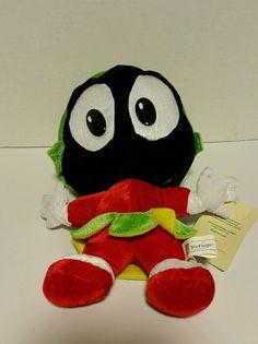Six Flags Plush Stuffed Marvin The Martian Looney Tunes  | Toys & Hobbies, Stuffed Animals, Warner Bros. | eBay!