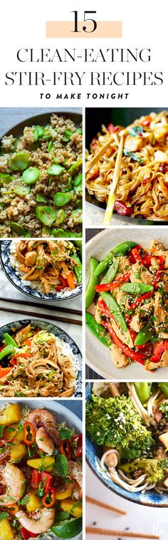 15 Clean-Eating Stir-Fry Recipes to Make for Dinner Tonight #purewow #dinner #easy #food #recipe #healthyrecipes #healthymeals #stirfry #cleaneating #cleaneatingrecipes #stirfryrecipes #eatclean
