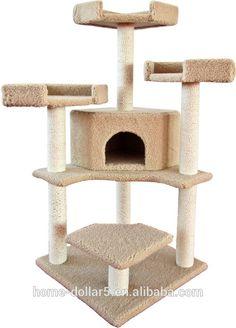 lüks açık kedi mobilya ve kedi ağaç sisal halat ve peluş-resim-Pet Kafesler, Taşıyıcılar & Evleri-ürün Kimliği:1923680982-turkish.alibaba.com