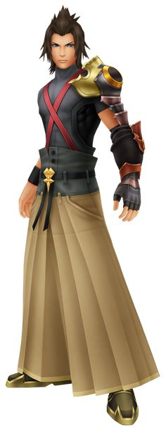 Terra Voiced by: Ryotaro Okiayu (Japanese), Jason Dohring (English) a powerful soldier, who is Aya's love interest.