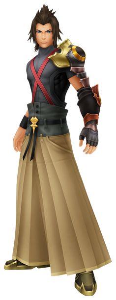 Terra Voiced by: Ryōtarō Okiayu (Japanese), Jason Dohring (English)
