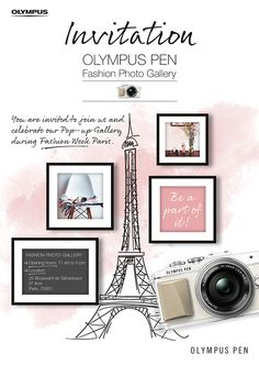 Places: Olympus Pen Fashion Photo Gallery in Paris
