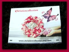 Hearts Baby Shabby Chic Foe Elastic by christiencollection on Etsy, $7.00