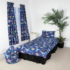 Better Dreams Dinosaur Duvet Set also available Optional Matching Curtains Bed Linen Sets, Duvet Sets, Duvet Cover Sets, Double Duvet Covers, Single Duvet Cover, Linen Bedroom, Linen Bedding, Where To Buy Bedding, Pleated Curtains