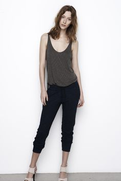 Graham and Spencer - Summer 2013 Collection Ideal Girl, Graham Spencer, Work Looks, Summer Tops, How To Feel Beautiful, Fashion Looks, Fashion Tips, Cropped Pants, Indigo